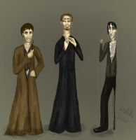 The Peverell brothers by Weasley-is-my-king