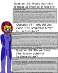 Respirator Suit Q and A Part 2 by JDogindy
