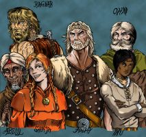 The remaining Six by Keehra