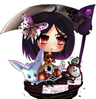 Alice Madness Return - Chibi version- by Axsikio