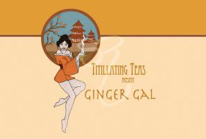 Titillating Teas-Ginger Gal by PlaidTidings