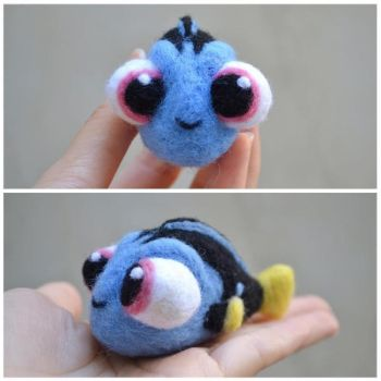 Baby Dory Plush! by ochadrop