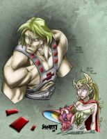 He-Man and She-Ra by Smitty-Tut