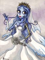 Emily the corpse bride by ArGe