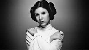 Carrie Fisher Princess Leia XVI by Dave-Daring