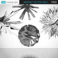 FREE Abstract vector pack by 123creative