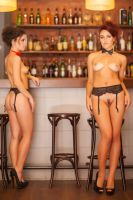 once in the bar by DenisGoncharov