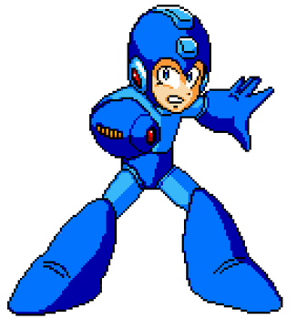 Megaman Weapon Get New by MegaFinex