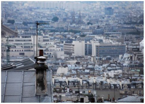 The View from Montmartre by sashaisinsane