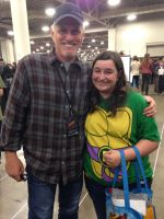 Me and rob paulsen! by Tmntcomicconluv1995