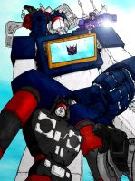 343GuiltySpark's Soundwave by billythebrain