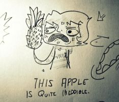 Apple. Or is it? by JL0G4N