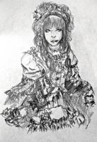 Hizaki - Princesse Rose by YUKU5U3