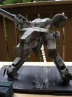 Metal Gear Rex Model 06 by Jinyol
