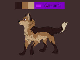 Camanti reference sheet by Sylean
