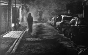 The Fog ... White Charcoal by artizd