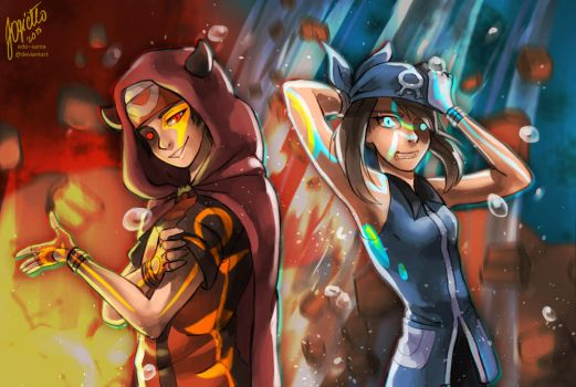 [pkmn] Omega Ruby and Alpha Sapphire by Edo--sama