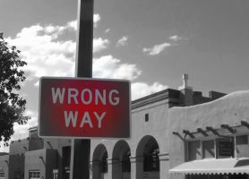 Wrong Way by Haruka13-NM