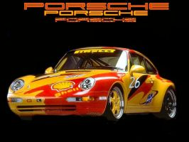 Shell Porsche. by puddlz