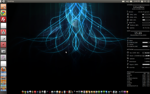 Unity Desktop On Ubuntu 10.04 by mhnassif