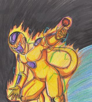 Gold Frieza 001 by Graxile