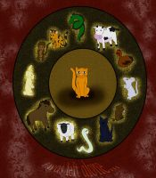 Chinese Zodiac by Ginger-Storm