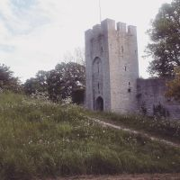 The Wall of Visby by Vigfusse