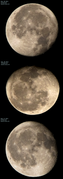 Moon December 30-31 2012 by laurapalmerwashere