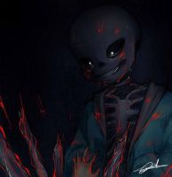 Sans - No Mercy by AstreaPink