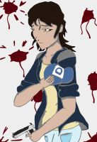 Clementine The Walking Dead: Grown Up by animedugan