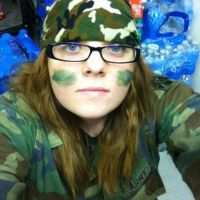Camo Day at SCHOOL o3o by Diblet