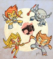 ThunderCats by xochiltana
