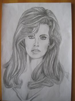 Raquel Welch by powmay