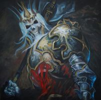 Diablo 3 - King Leoric, Oil on Canvas by AnaCrafty