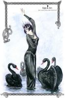 Black swans by jen-and-kris