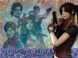 Claire Redfield Wallpaper by Claire0267