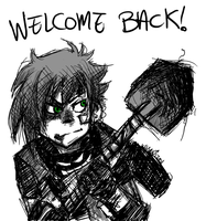 Welcome Back Gravedigger by ZombieDogInk
