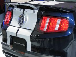 2010 Shelby GT500 - rear by Qphacs