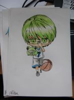 Midorima Shintaro in color by miki4212
