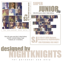 Super Junior - Icons Pack by nightknights