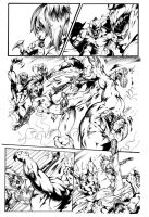 Summons page 2 inks by Inker-guy