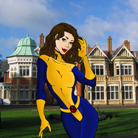 Kitty Pryde and X-Mansion - PSP X2 by portfan