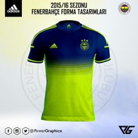 2015/16 Fenerbahce Neon Forma Tasarimim by Power-Graphic