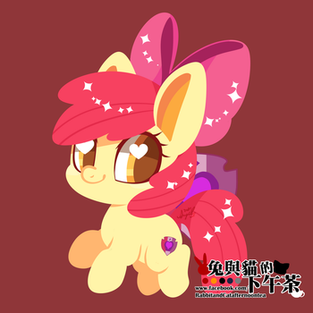 Apple Bloom by abc002310