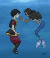 Zutara - Mythology by izzy-wizzy
