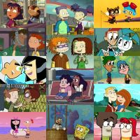 Some of my many favourite best friends couples by WG2020TV
