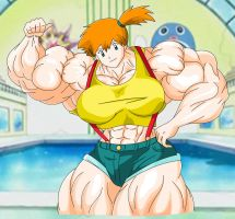 Misty - The Cerulean city gym leader by MATL