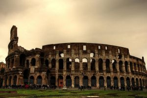 Colosseum of Rome by LPeregrinus