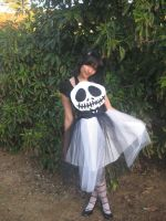 Jack Skellington Apron Pinafore Cosplay by DarlingArmy