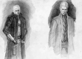 Vergil and Dante by Rabbit-Seeker